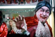 Создание образа Дракулы к хеллоуину 2020