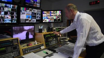 Материал для сюжета о том, как «делается телевидение» на ВГТРК