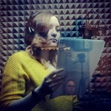Первая практика работы в звукостудии у группы дубляжа