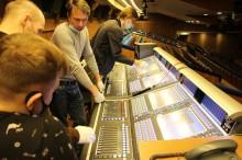 Будущие звукорежиссеры посетили главную сцену страны