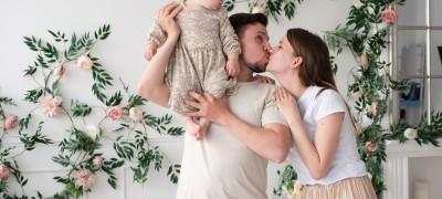 Семейная фотография, фотосессия. Студентка - Алёна Сливка